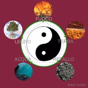 Il ciclo di trasformazione dei 5 elementi