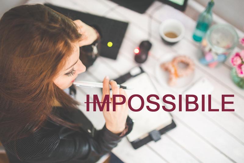 Cosa pensi sia impossibile cambiare della tua cucina che invece puoi cambiare